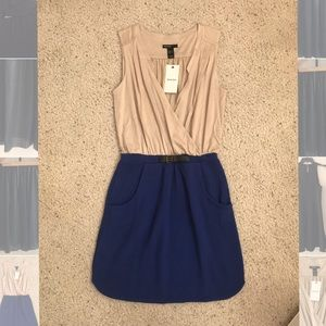 Mango Casual Dress with adjustable buckle Size S